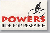 Powers Ride for Research logo